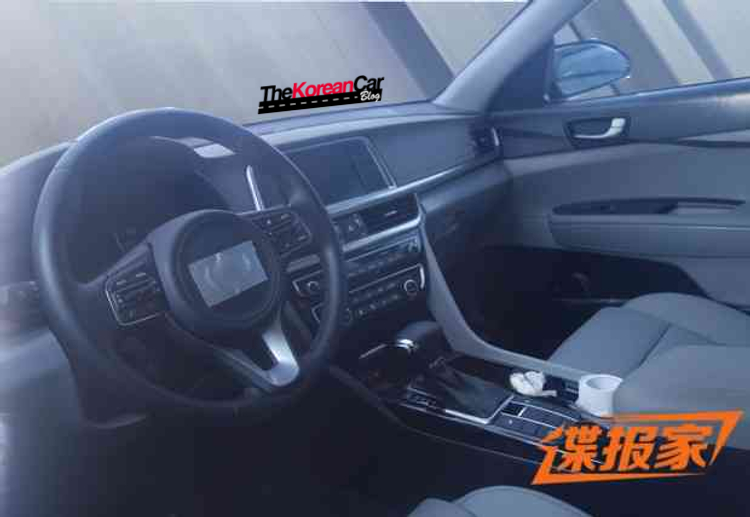 2016-kia-optima-spotted-with undisguised-interior (2)