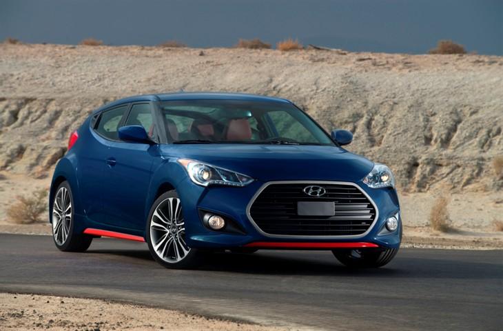 2016 Hyundai Veloster Debuts at Chicago