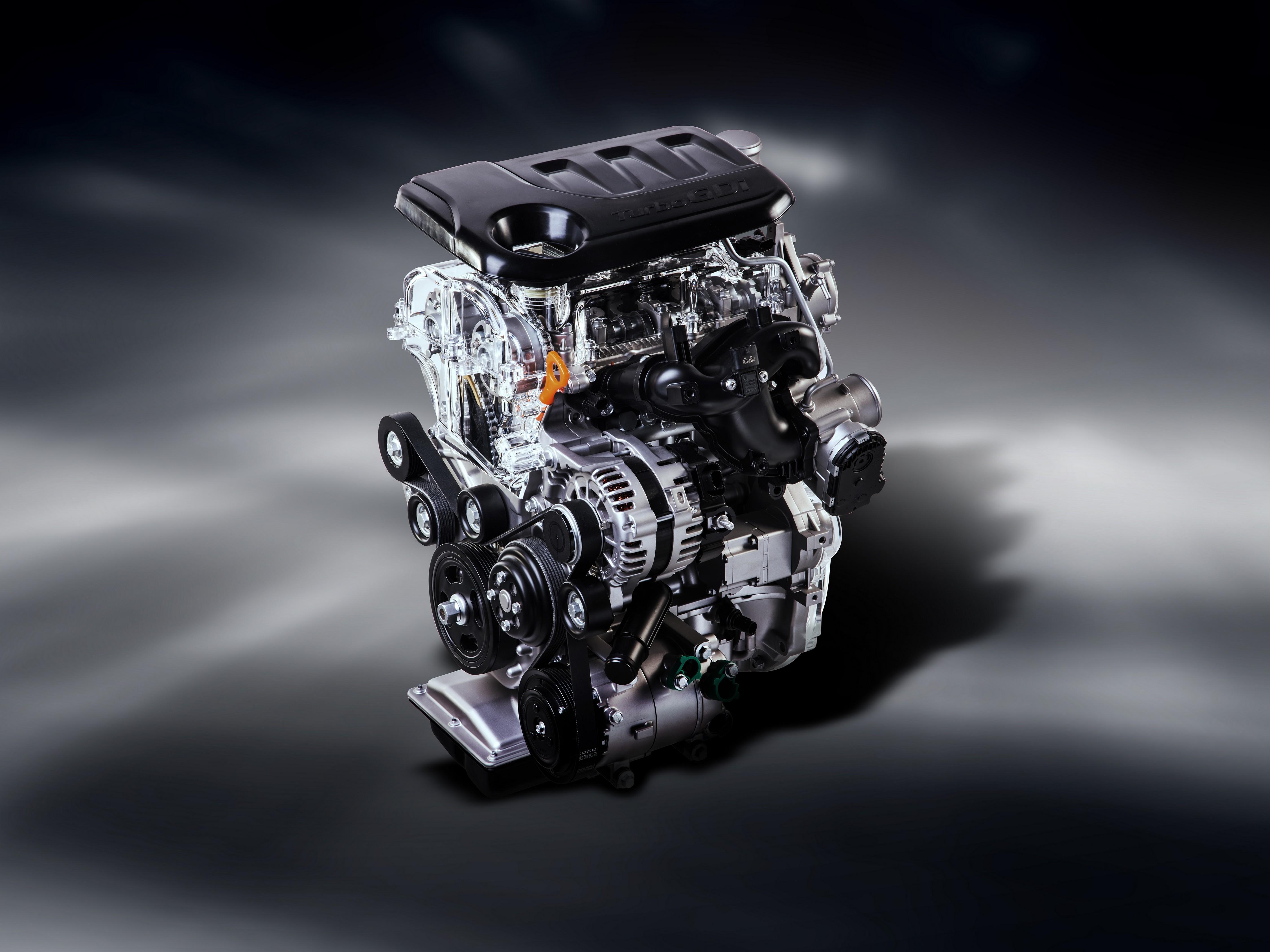 Kia Kappa Turbo 1.0-liter 120 hp Engine Revealed