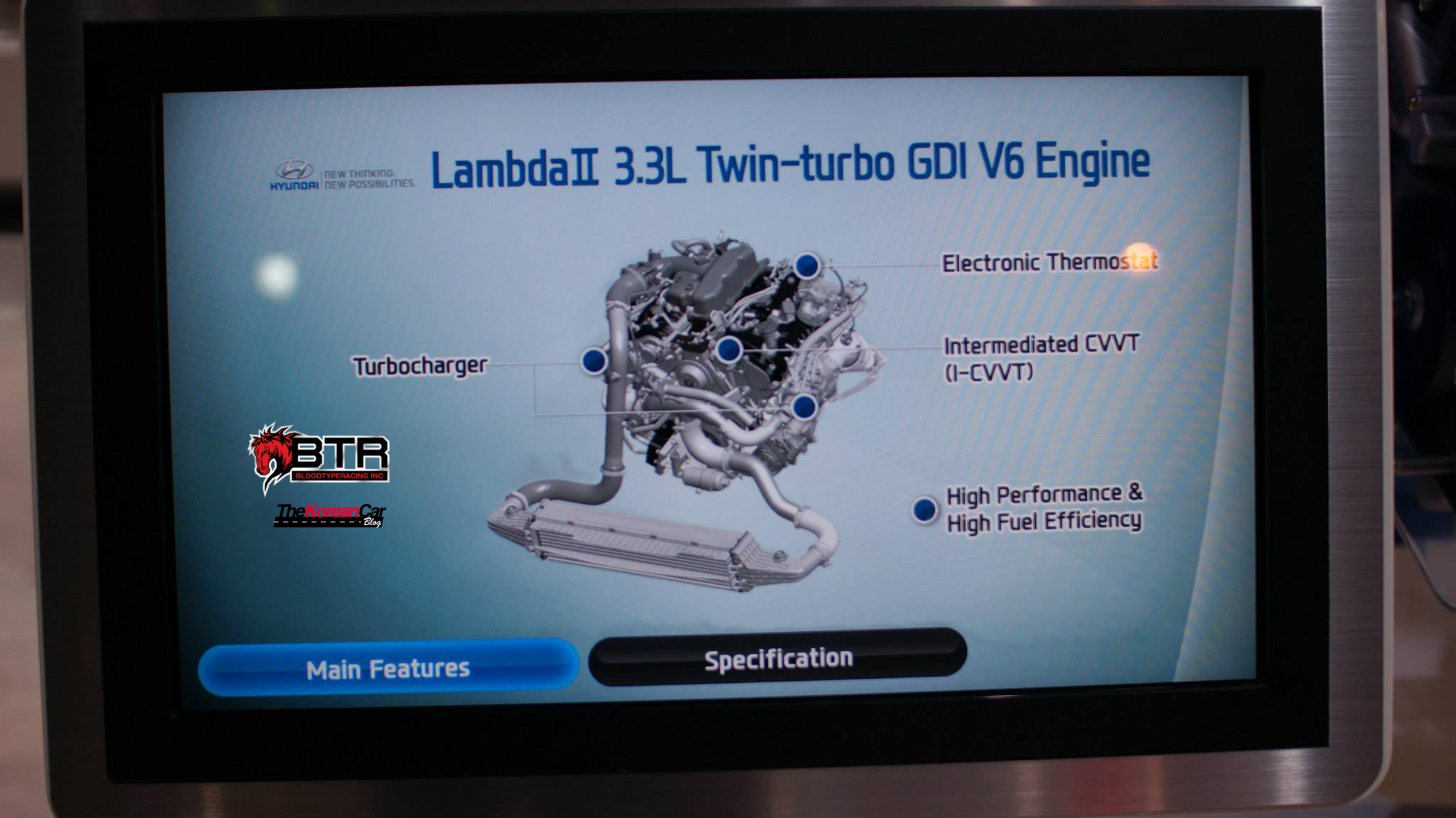 Exclusive: Hyundai 3.3 Turbo GDi V6 Engine