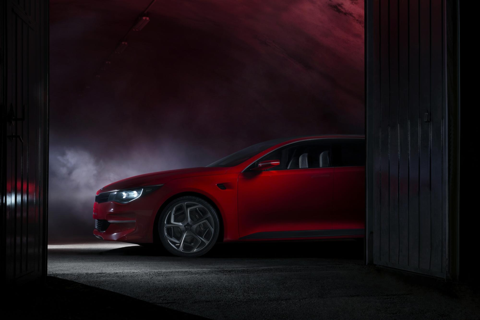 Kia Concept Car to Debut at Geneva