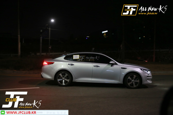 2016 Kia Optima Caught Undisguised [Updated]