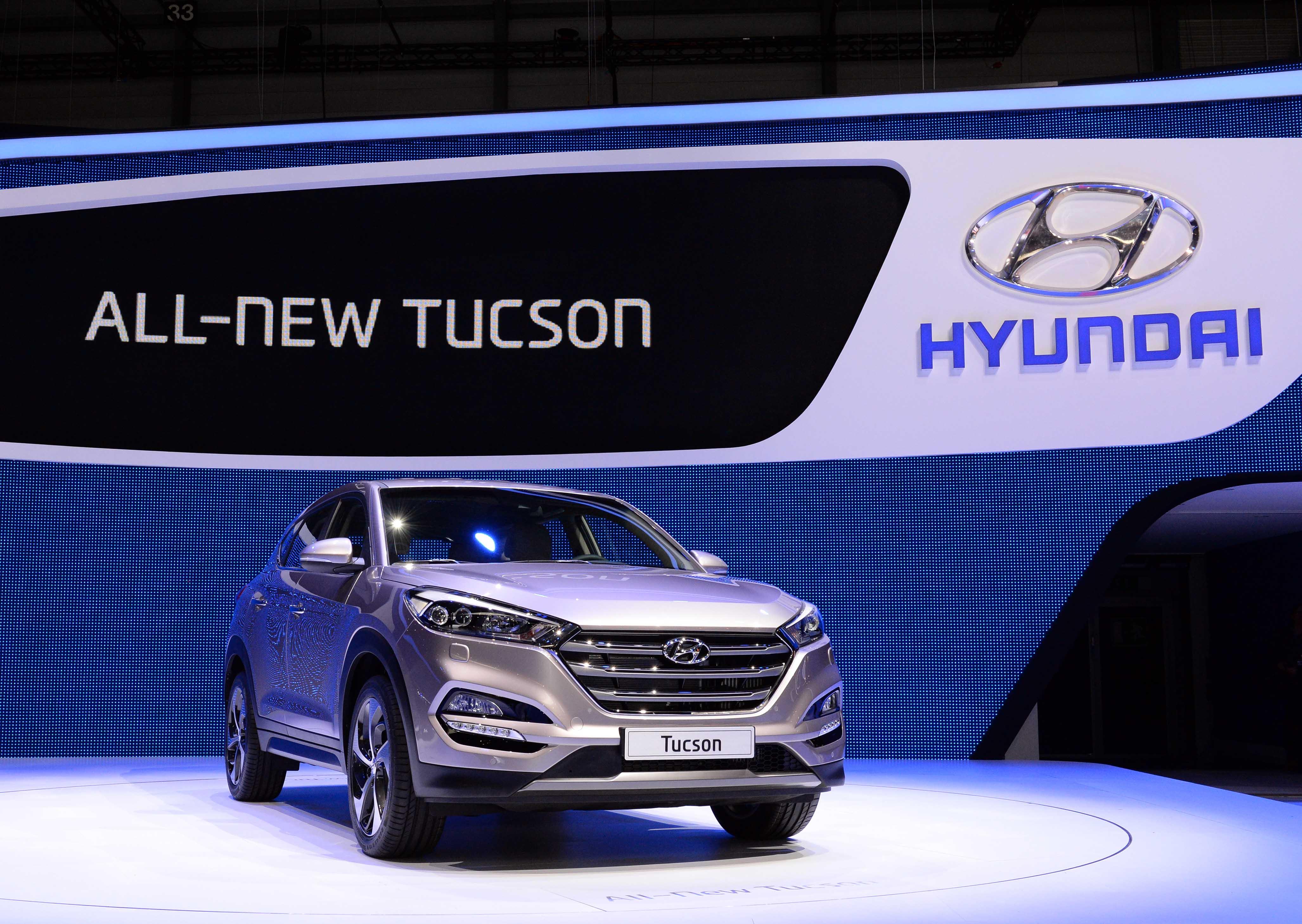 Hyundai Motor line-up at 2015 Geneva Motor Show