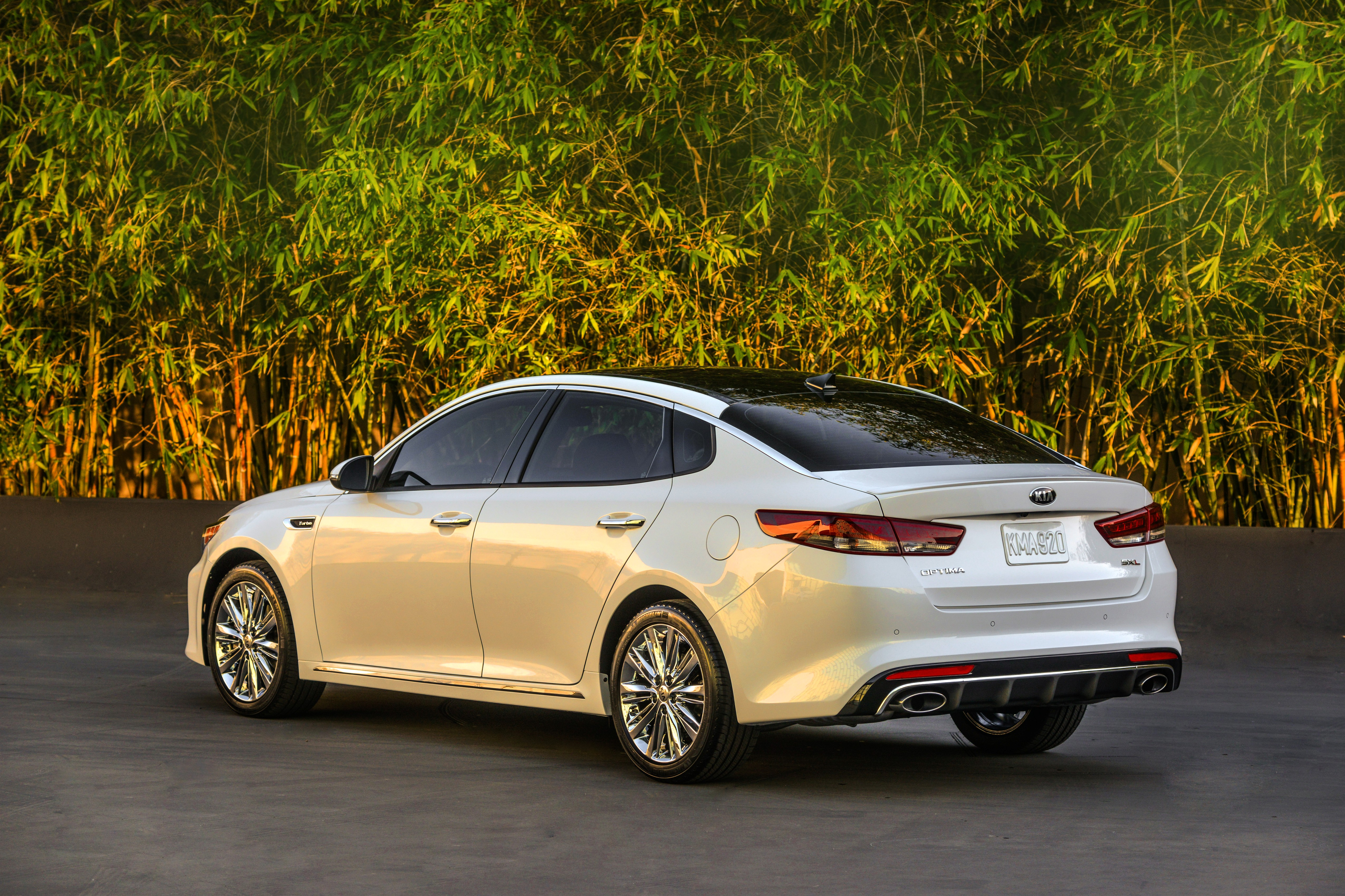 New York 2016 Kia Optima Revealed Updated