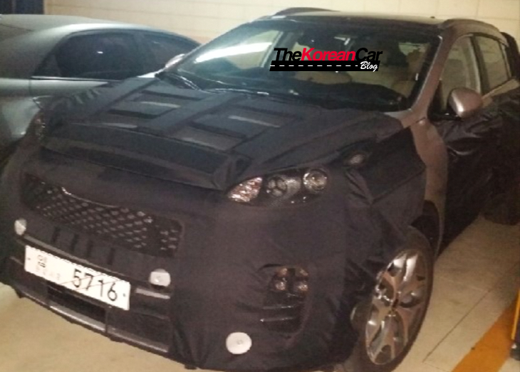 New 2016 Kia Sportage Spotted in South Korea