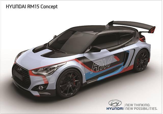 Hyundai Veloster Midship RM15 Concept
