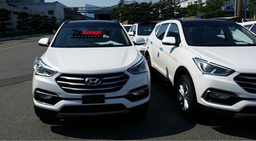 2016 Hyundai Santa Fe Leaked