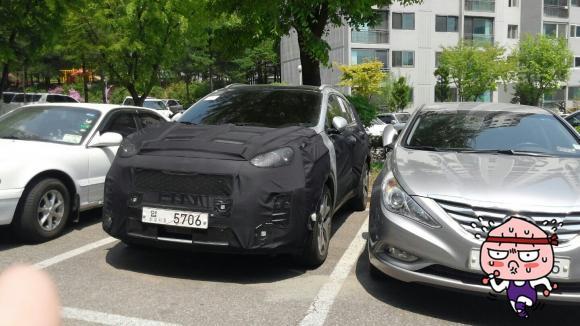 2016 Kia Sportage Interior Spotted