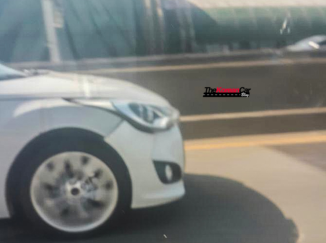 Hyundai Veloster Mysterious Test Mule