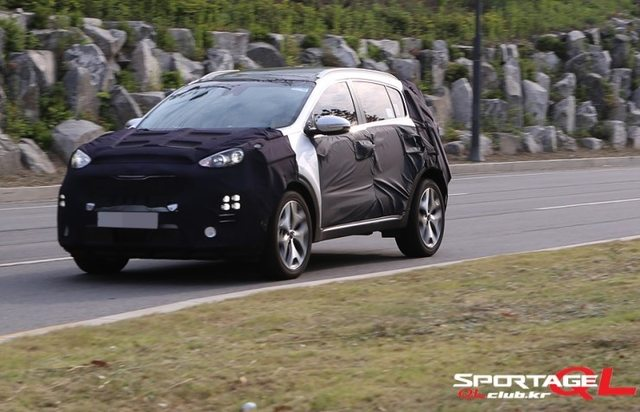 2016 Sportage Spotted Again in South Korea