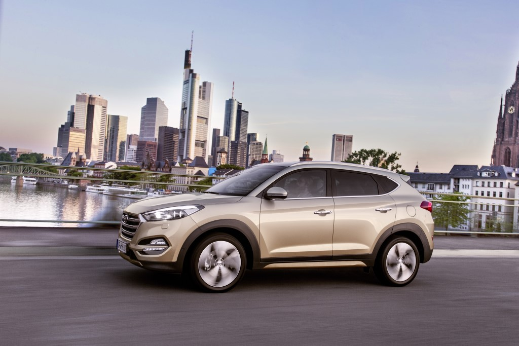 First Drive: 2016 Hyundai Tucson European Spec