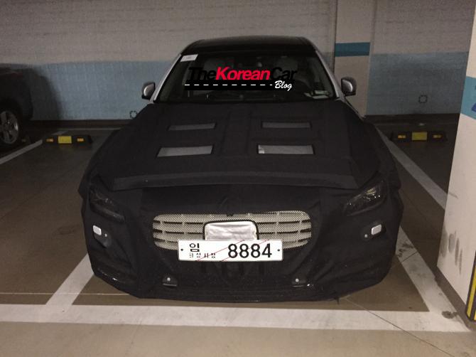 Mysterious Hyundai Genesis Spotted