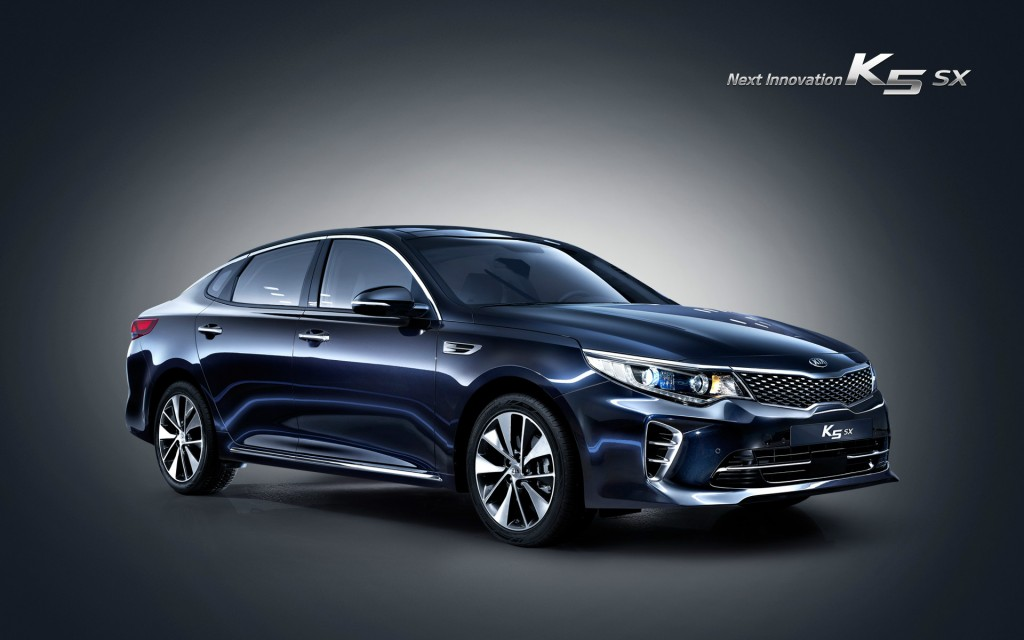 New Kia K5 Launched In South Korea