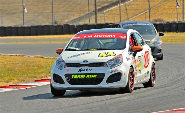 Kia Racing's driver Kyle Keenan continues dominating the SCCA B-Spec National Champion with his Rio Hatchback