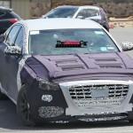 Hyundai Genesis Sedan Turbo Spied for the First Time (10)