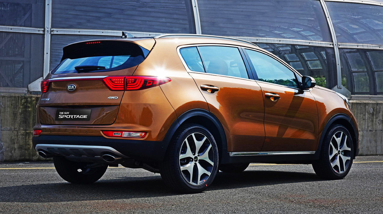 More 2016 Kia Sportage Official Pictures