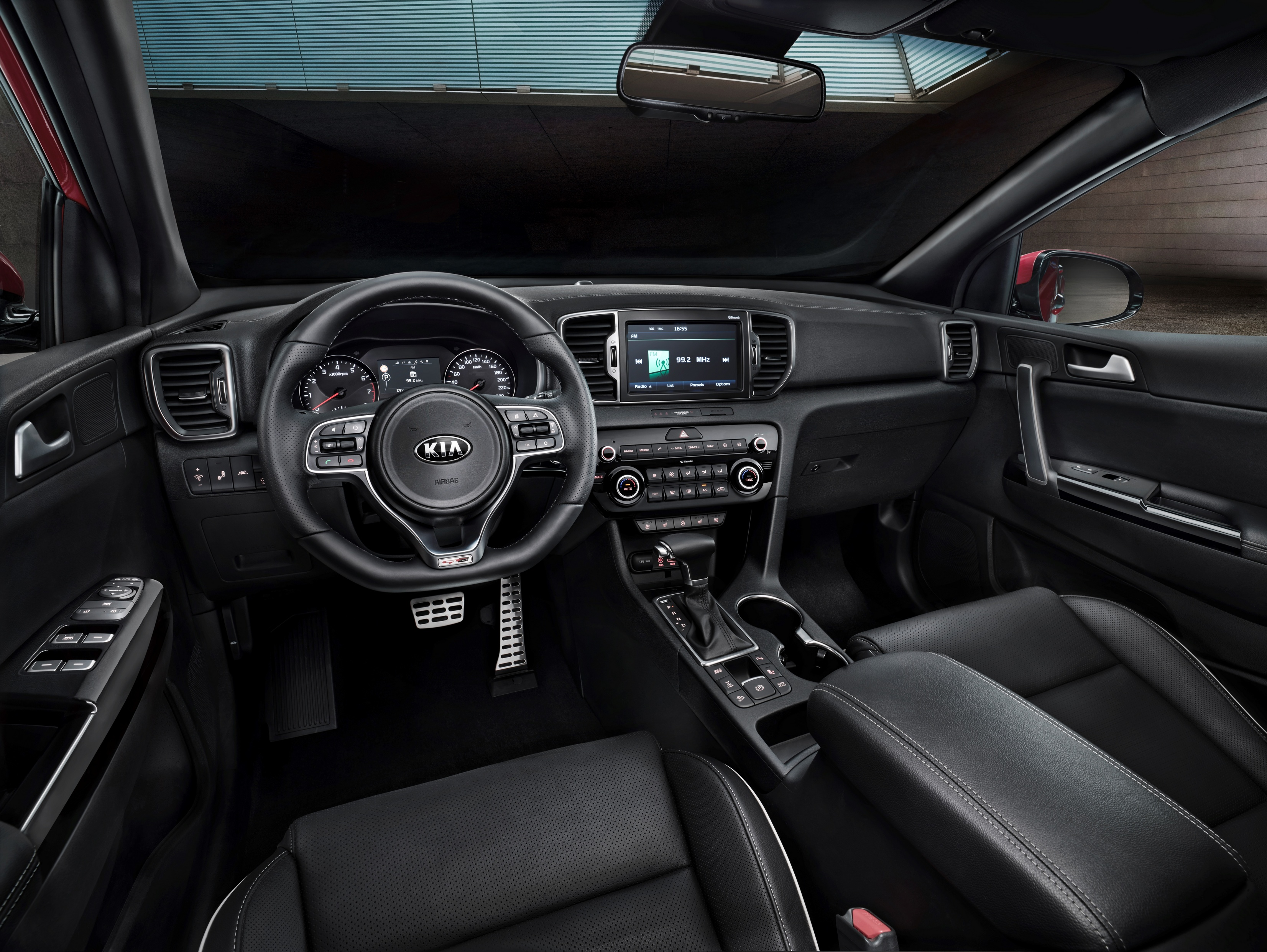 2016 sportage full specs interior revealed (2)