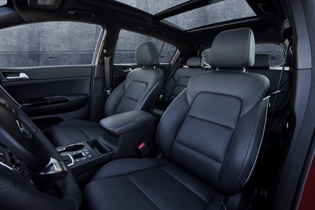 2016 sportage full specs interior revealed (3)