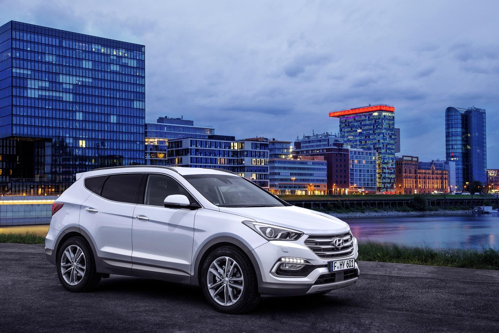 Refreshed Hyundai Santa Fe Revealed Ahead Frankfurt