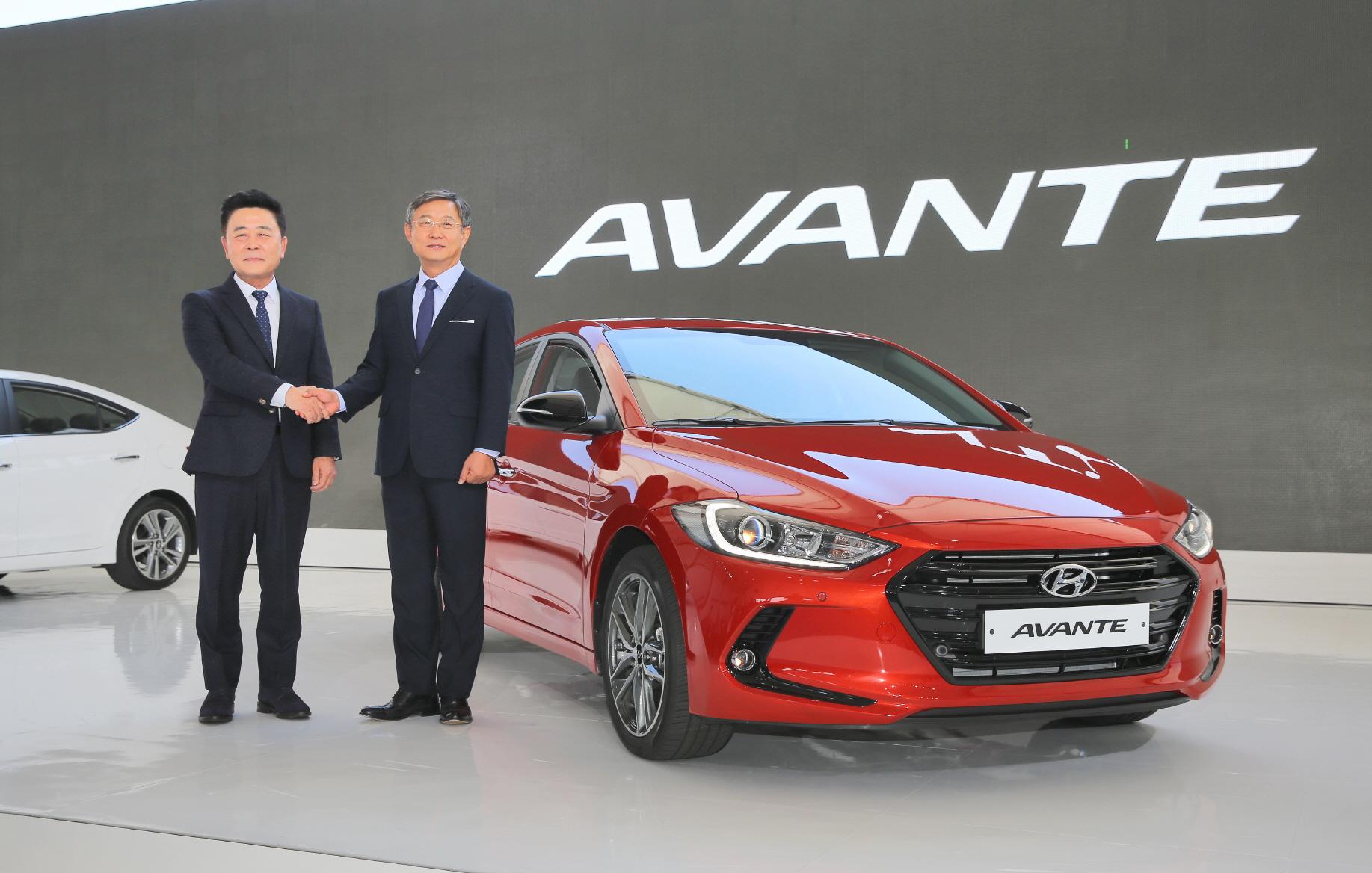 Hyundai Elantra World Premiere Ahead Frankfurt