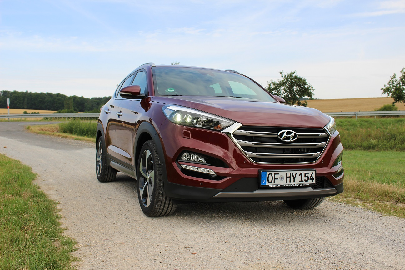Review: Hyundai Tucson 1.6 T-GDi 177 hp European Spec