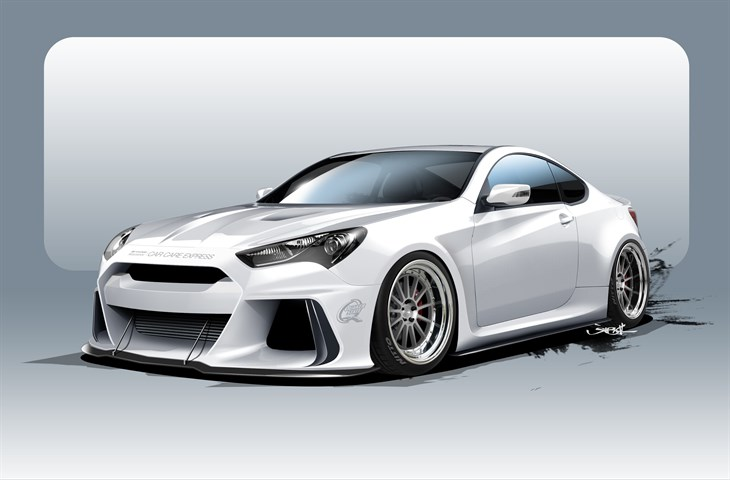 Genesis Coupe by Ark Performance to debut at SEMA