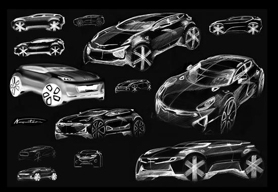 Kia Sportage Sketches