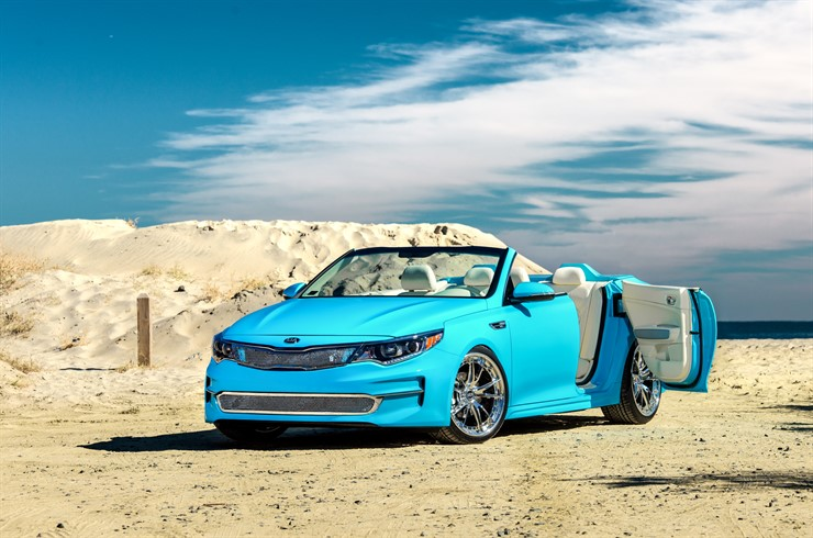 A1A Optima Convertible for SEMA Show w/Video