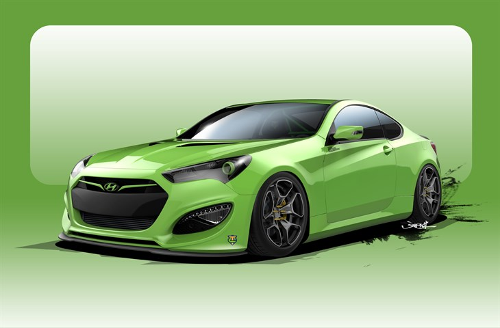 Tjin Edition Genesis Coupe for SEMA