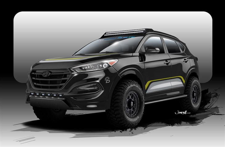 Offroad 2016 Tucson for the Sema SHOW