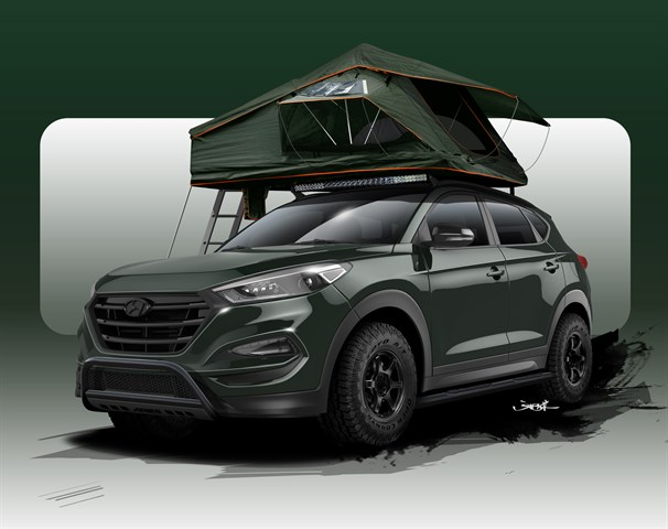 JOHN PANGILINAN CREATES TUCSON  ADVENTUREMOBILE FOR SEMA