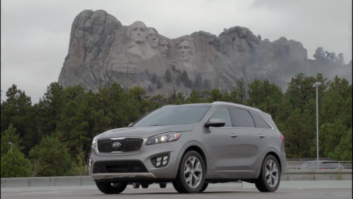 Kia Sorento ad for SEMA 2015