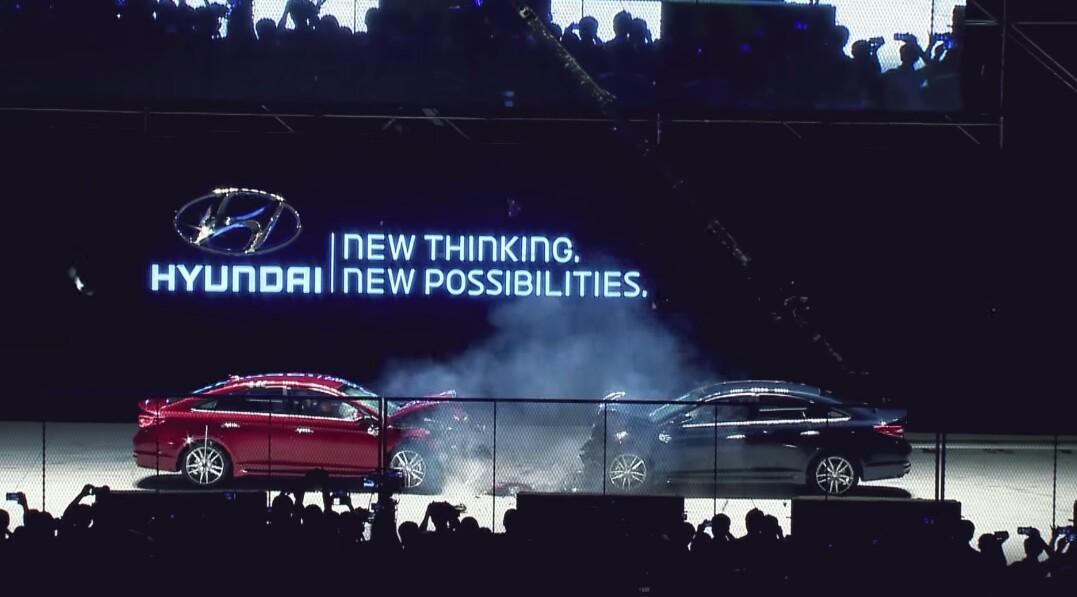 Crash test: US-spec Sonata vs. Korean-spec Sonata