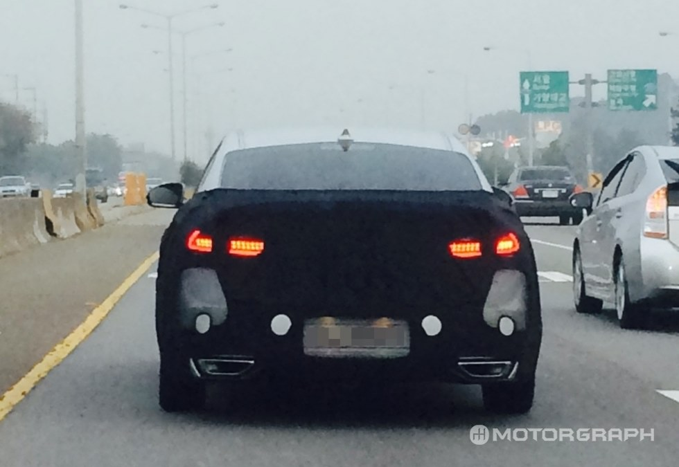 Kia K7 Spotted Again, to be More Upscale