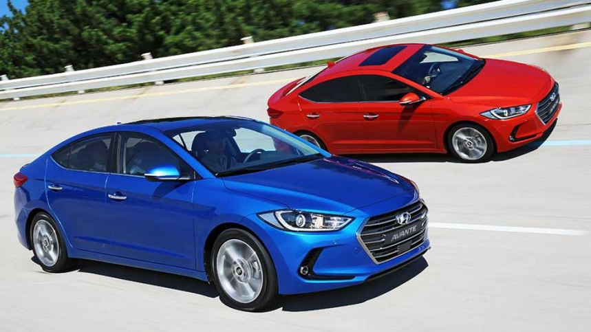 New Hyundai Elantra Hits 10,000 Mark in Monthly Sales