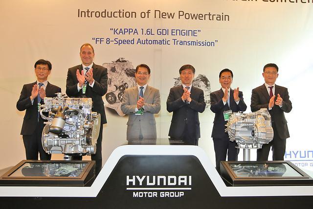 New 1.6 GDi Engine for Hybrid Cars Revealed