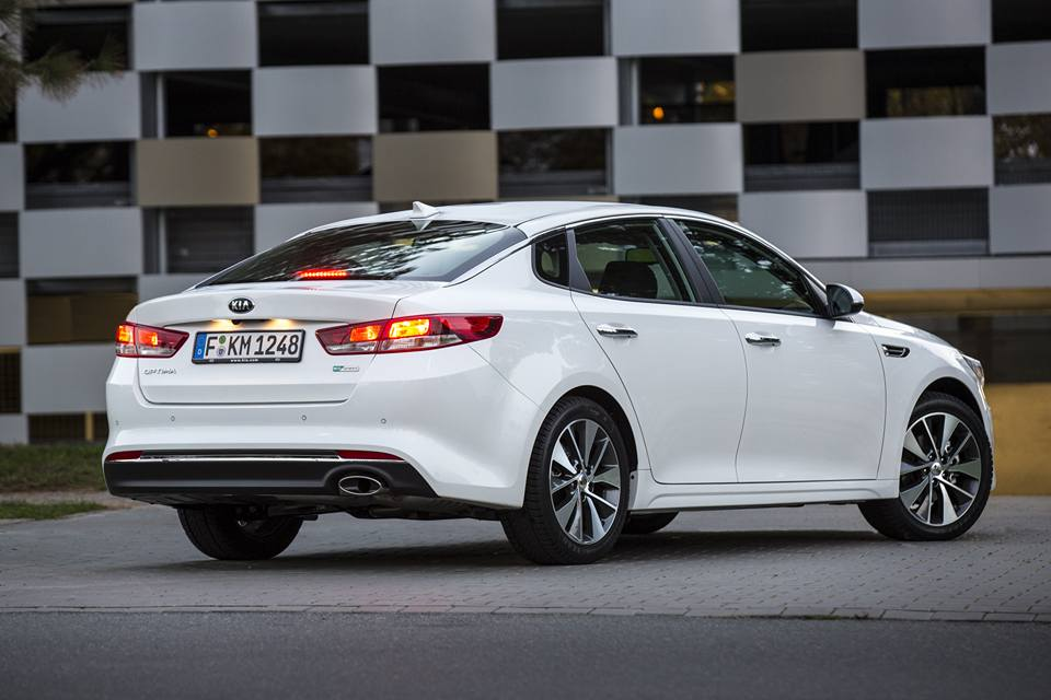Kia Optima Available from 24,990€ in Germany