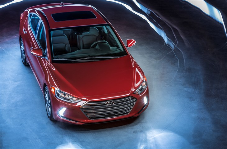 2017 Hyundai Elantra launched at LA Auto Show