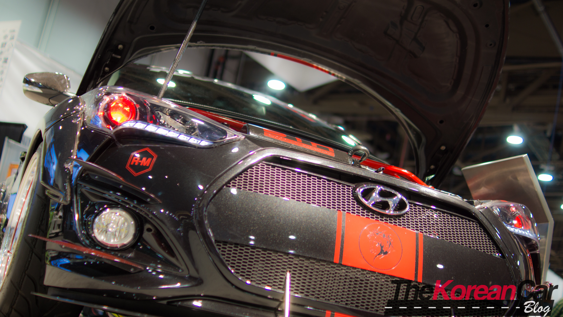 Blood Type Racing Veloster to Debut at 2015 SEMA Show (Updated)