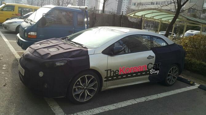 Scooped: Kia Forte Koup Facelift