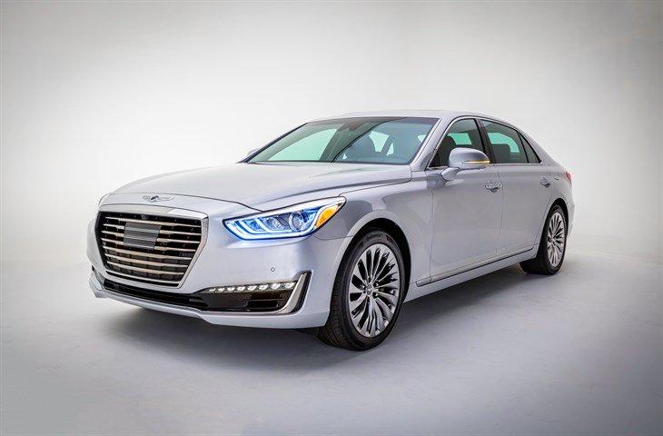 Hyundai Revealed Genesis G90 at Detroit