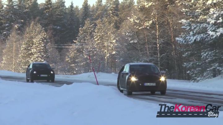 Spy Shot: Video of the 2017 Kia Rio