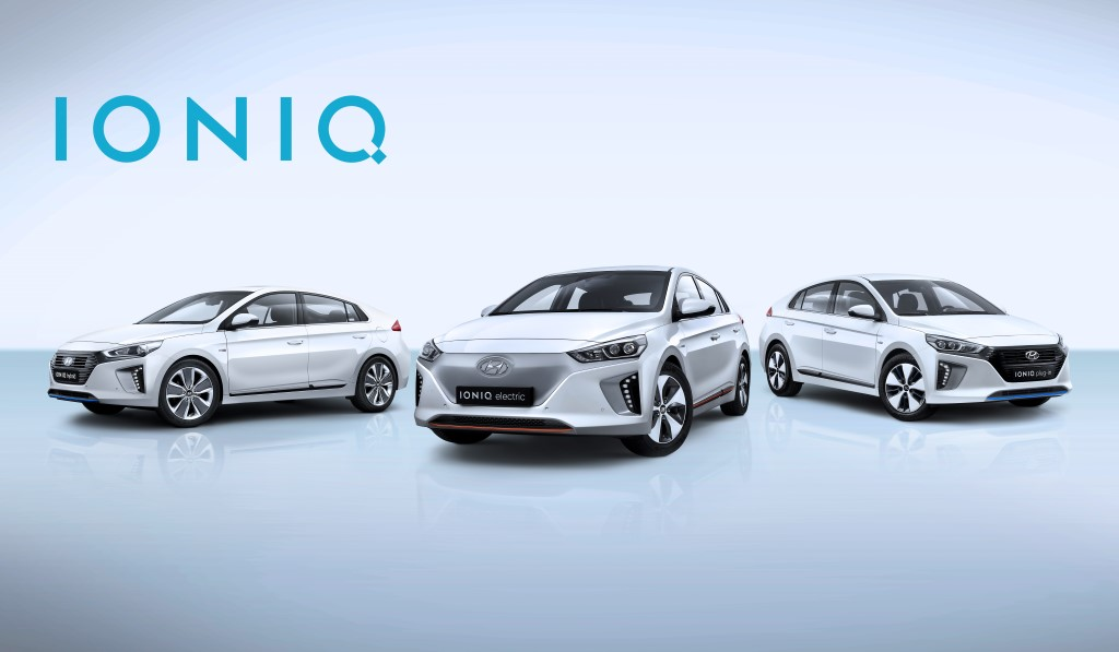 All-New IONIQ line-up (Custom)