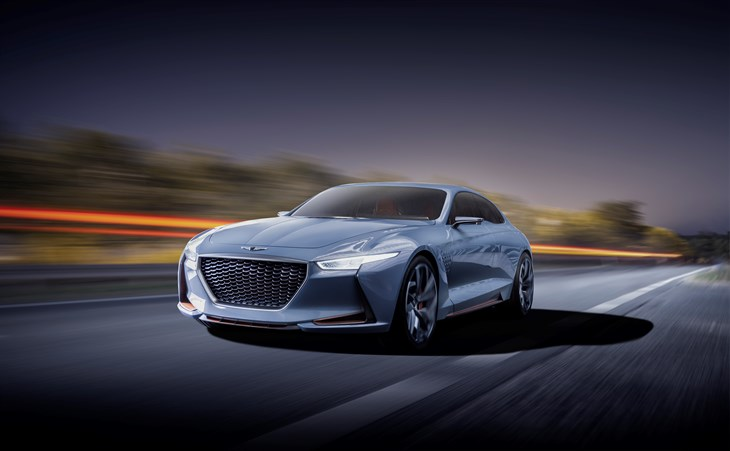Genesis to Show a High Performance EV Sports Coupe in New York