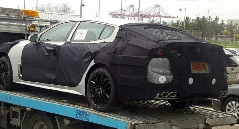 Kia CK Spotted for the First Time w/ Final Body