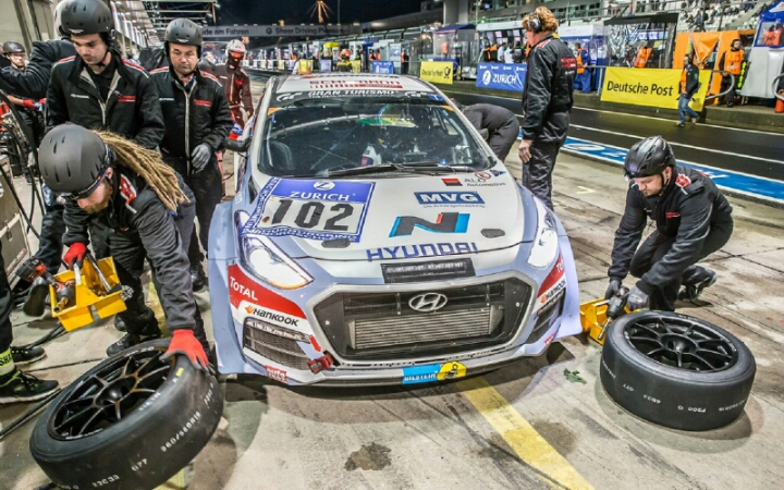 Hyundai Motor Builds on 24h Race for Future High Performance Engine