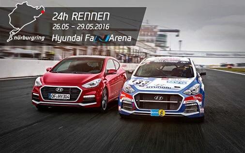 Hyundai N Performance at Nürburgring 24hrs