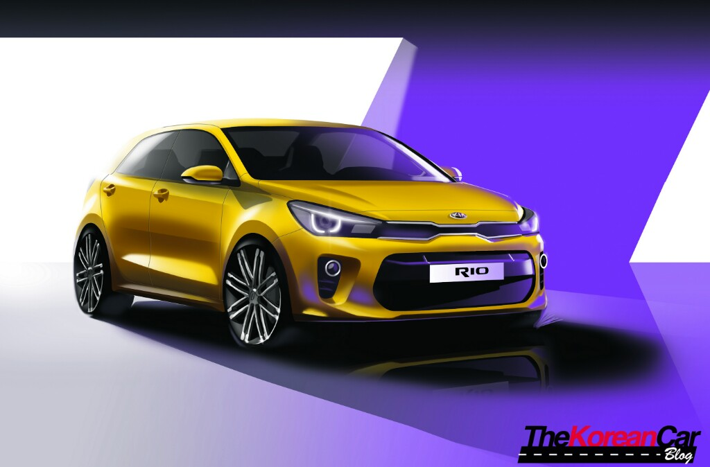 2017 Kia Rio Official Renders