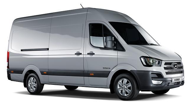 Hyundai H350 Fuel cell concept unveiled