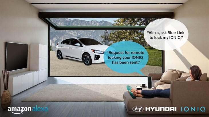 Hyundai Amazon Alexa